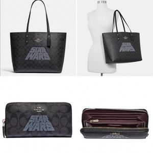 Coach x Star Wars Tote and Wallet Set